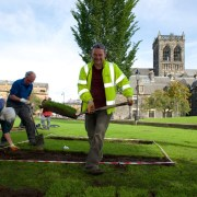 Work starts on archaeological dig to explore a mysterious site near Paisley Abbey