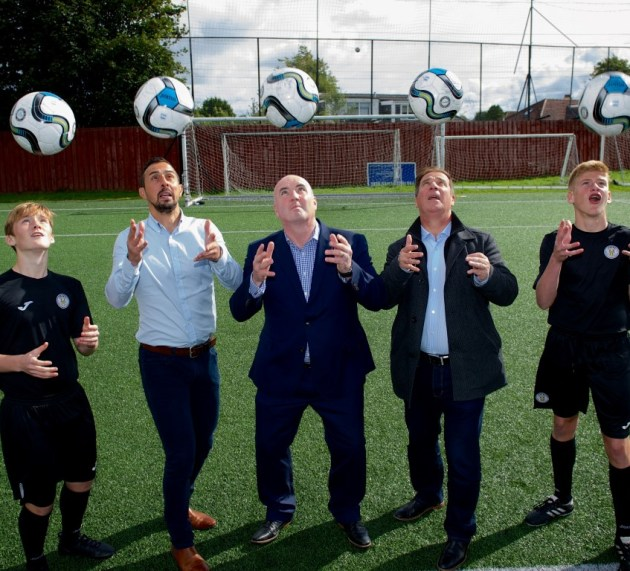 St Mirren FC's Youth Academy awarded £15,000 community cash boost from Love Street contractor