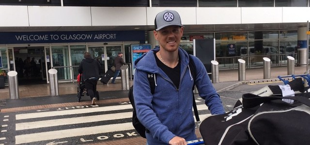 Braehead Clan: Tyler Scofield arrives into Glasgow