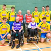 Veterans' charity Erskine sponsors local under 19's football team