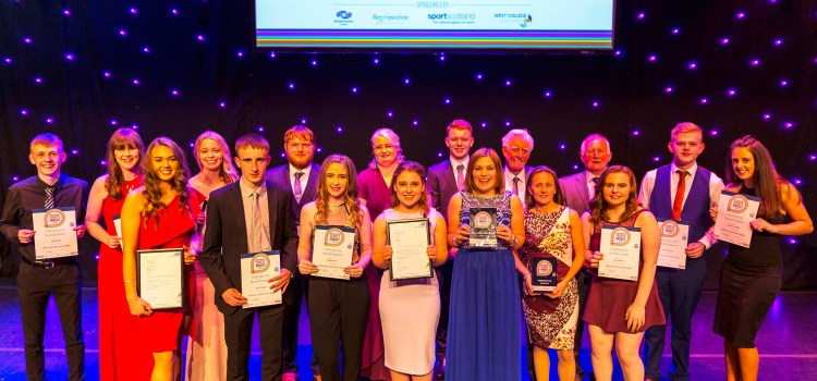 Hat-trick of wins for Kilbarchan AAC in annual sports awards