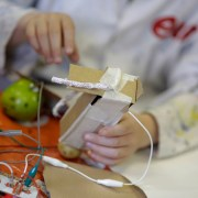 Renfrewshire pupils go bananas for energy during E.ON's Creative Conductors workshops