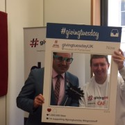MP supports international charity day #givingtuesday