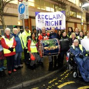 Reclaim the Night march in support of ending violence against women – Tuesday 28th November