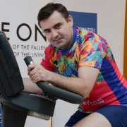 """""""On Your Bike Newlands!"""" MP races against service personnel in support of The Royal British Legion's Annual Poppy Appeal"""