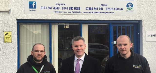 Local MSP tours local Businesses ahead of Small Business Saturday