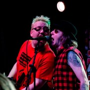 Paisley punk band Fire Exit – photos from their Christmas gig in Glasgow
