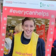 Mhairi Black Backs Tesco Food Bank Collection