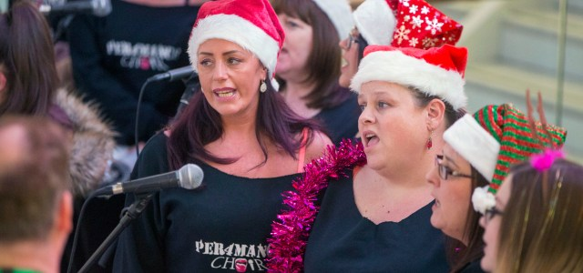 Splash Productions Choir performs intu's 'happiest Christmas song' at intu Braehead
