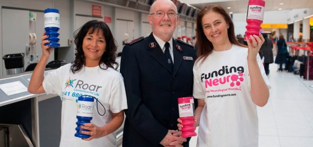 Glasgow Airport's Chaplain's Charity to support Funding Neuro and Roar – Connections for Life in 2018