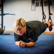Amanda's getting fit to have a ball with Team GB