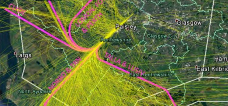 First of five airspace consultation drop-in sessions gets underway at Glasgow airport
