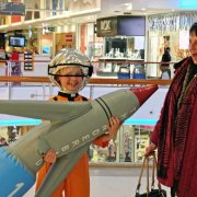 Kids will have a blast with space-age fun and games