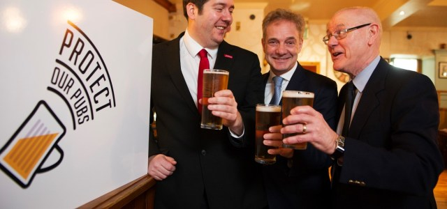 Cross-party backing for Tied Pubs Bill
