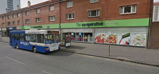 Sales assistant threatened with a blade during robbery at Neilston Road Co-op