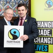 Parliamentary event invites Gavin Newlands MP to 'Come On In' to Fairtrade