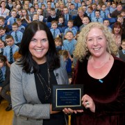 St Anthony's Primary School announced as first Scottish title holder of UKLA Literacy School of the Year
