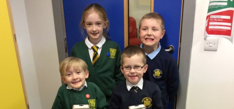 St David's and Cochrane Castle Primary pupils get charged up for recycling