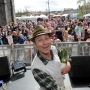 Event: Tiddlers can come along and see Mr Bloom at Paisley Food and Drink Festival