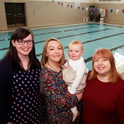 Free swimming sessions for parents and babies in Renfrewshire