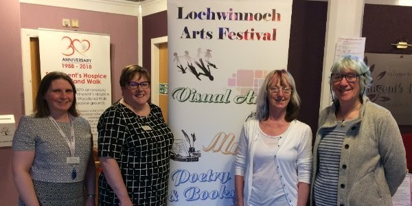 Arts Festival raises thousands for local Hospice