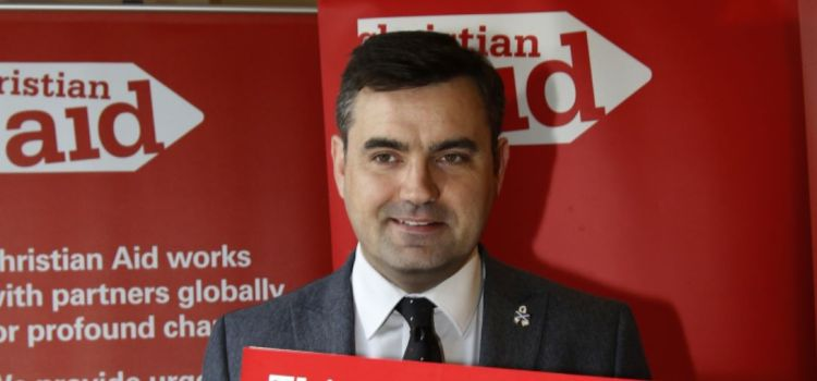 MP shows his support for Christian Aid Week