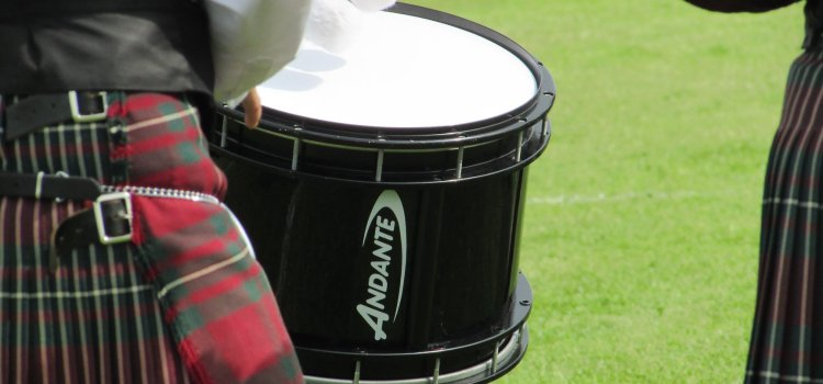 Thousands turn out for the British Pipe Band Championships at St James Playing Fields