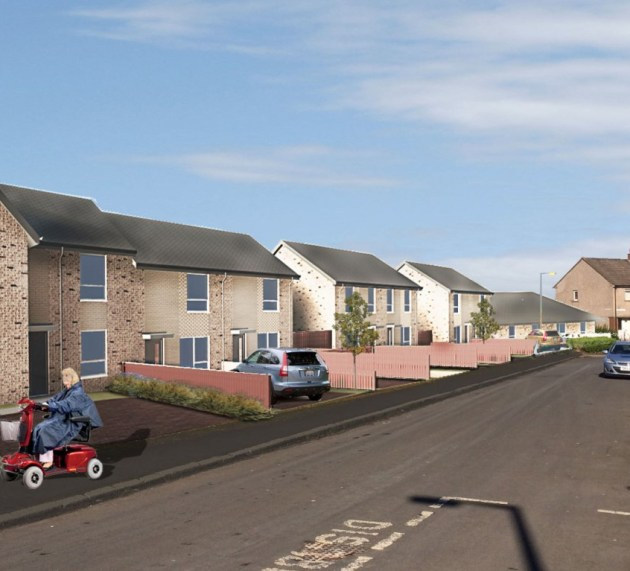 What will the new Council homes in Johnstone Castle look like?