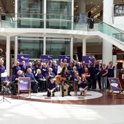 Alzheimer Scotland stage dementia awareness day at Intu Braehead