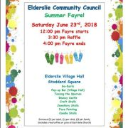 Elderslie Summer Fayre to be held later this month