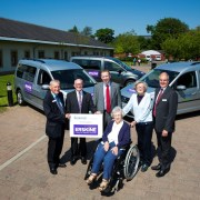 Scotmid Co-operative donates three specially-adapted buses to veteran's charity Erskine