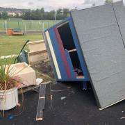 Johnstone nursery play area destroyed by teen vandals