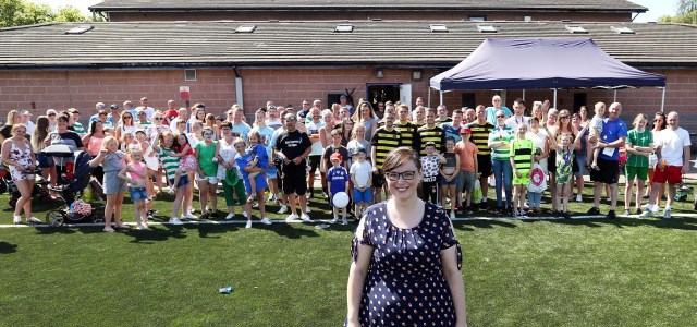 New all-weather pitches laid at the Ferguslie Sports Centre