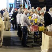 intu Braehead Arena transformed into food packing factory to feed starving in Africa