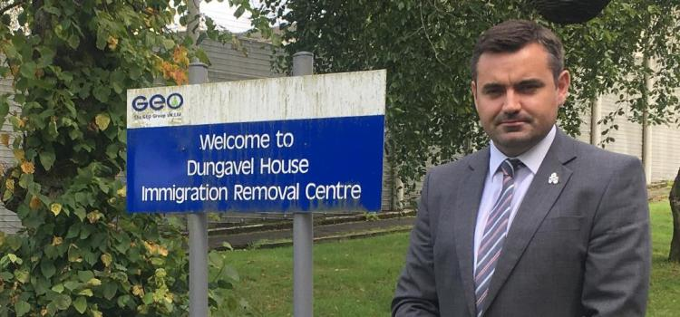 Renfrewshire MP visits Dungavel Immigration Removal Centre