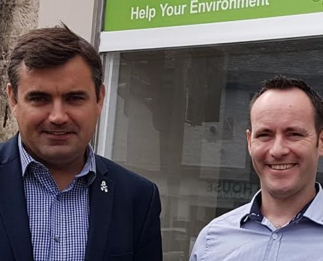 Local MP meets energy action group LEAP