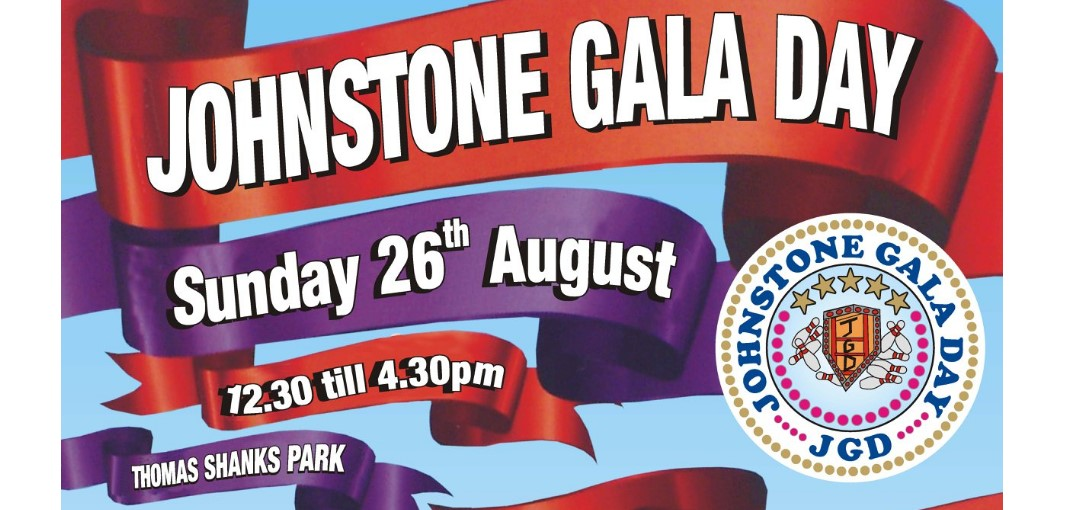 Johnstone Gala Day 2018 to be bigger and better than ever before
