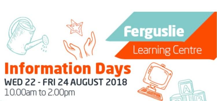 Ferguslie Learning Centre to hold an information open day