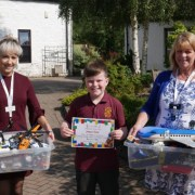 10-year-old donates entire Lego collection to St. Vincent's