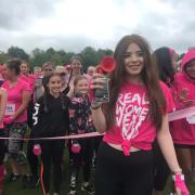 Proud Natalie pays tribute to her inspirational dad as thousands of Scots get pretty muddy