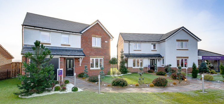 Show homes open at Dargavel Village in Bishopton