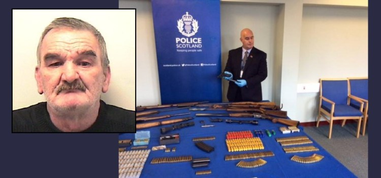 Walenty Kubica sentenced to over 5 years for firearms & drugs offences