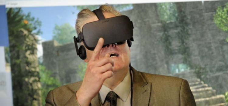 MSP samples virtual reality therapy used by charity Sue Ryder