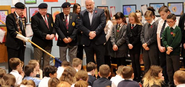 Renfrewshire Remembers: Primary kids remember the fallen