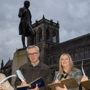 Poet and playwright Brian Whittingham appointed the Tannahill Makar for Renfrewshire