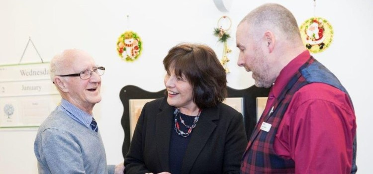 Cabinet Secretary for Health and Sport makes a New Year visit to veterans' charity Erskine