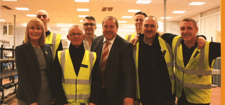 Bishopton factory for injured veterans hailed by Minister