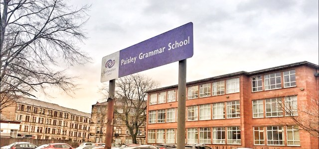 Paisley Grammar receives a strong school inspection report