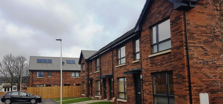 All homes builton the land where St Mirren FC once played are handed over to new residents