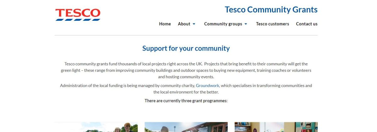 Renfrewshire councillor highlights Tesco Bags of Help community grant scheme is now open for applications